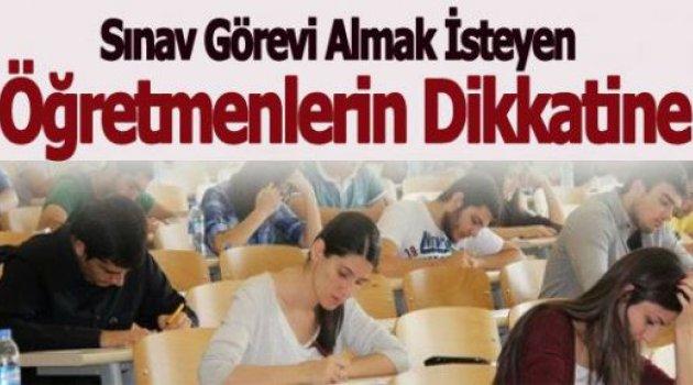 YGS Sınav Görevi Başvuruları Başladı - Tıkla Başvur